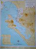 Map of Langebaan Lagoon